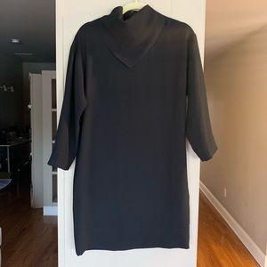 IRO mock neck work dress